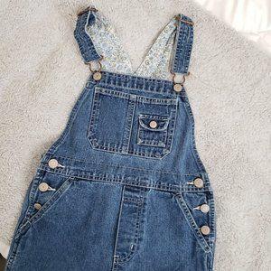 3/$30 Vintage girls overalls